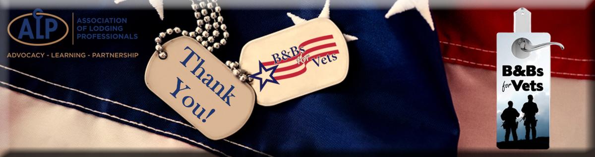 B&Bs for Vets Header Banner